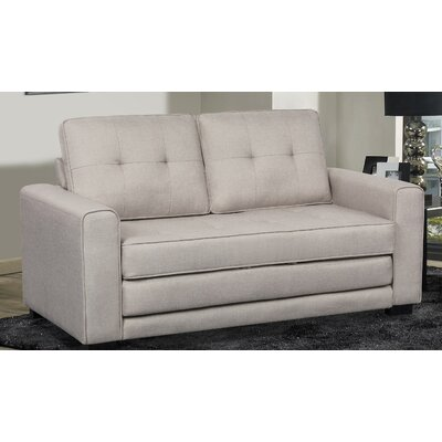 Duke Sleeper Sofa Upholstery: Beige/Light Gray