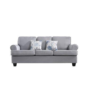 Ashkum Classic Design Sofa Upholstery: Light Gray
