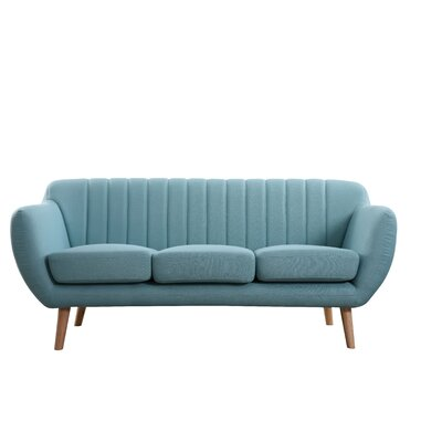 Villalba Sophisticated and Stylish Standard Sofa Upholstery: Eton Blus