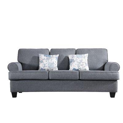 Ashkum Classic Design Sofa Upholstery: Gray