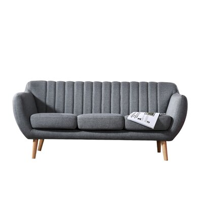 Villalba Sophisticated and Stylish Standard Sofa Upholstery: Gray