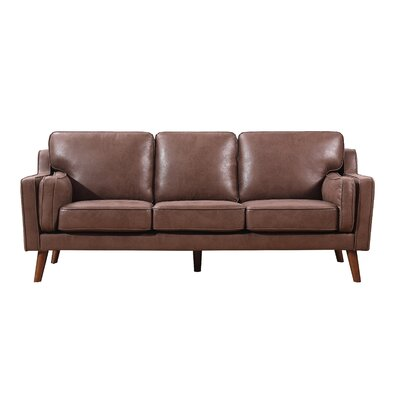 Westbury Park Modern Luxurious Sofa Upholstery: Brown/Tan