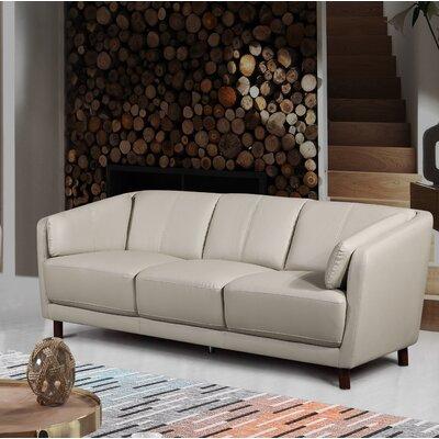 Evertsen Mid-century Modern Sofa Upholstery: Gray