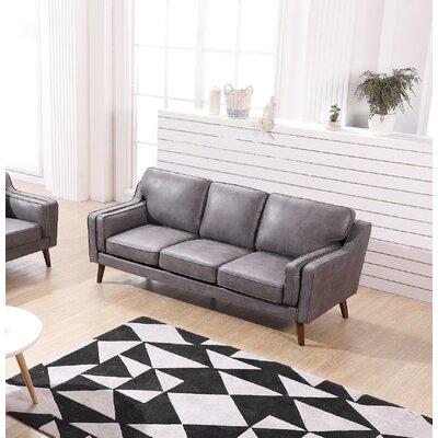 Westbury Park Modern Luxurious Sofa Upholstery: Gray