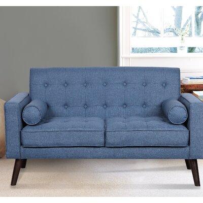 Morre Loveseat Upholstery: Ocean Blue