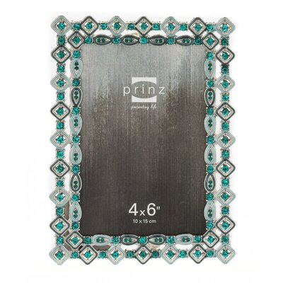 Armitage Metal with Diamond Shaped Jewels Picture Frame 2540-0146