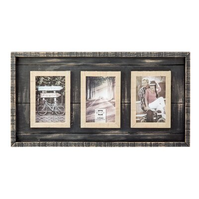 Madison Picture Frame Color: Black BCMH2430 42620566
