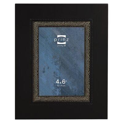 Vanderbilt Wood Picture Frame Color: Black 1688-646
