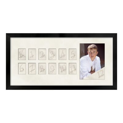 Thirteen Opening Picture Day Picture Frame Color: Black ANDV1930 42621526