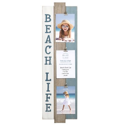 Water's Edge 'Beach Life' Plank Picture Frame 3577-5930