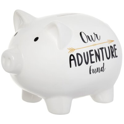 'Our Adventure Fund' Piggy Bank 6620-6007