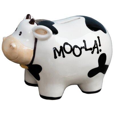 'MOOLA!' Piggy Bank 6620-6011