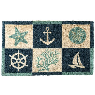 Coastal Icons Doormat