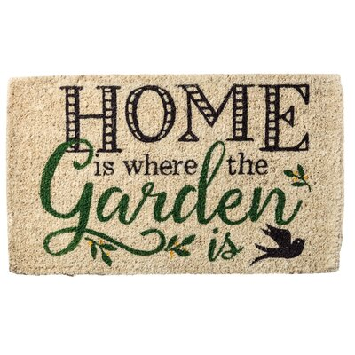 Home is Where the Garden is Doormat