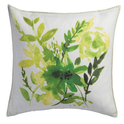 Herb Cotton Throw Pillow
