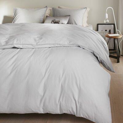 Bloomfield 100% Cotton 3 Piece Duvet Set Size: Queen, Color: White