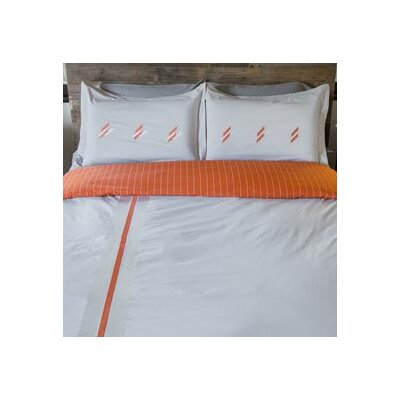 Vertical Stripe Duvet Set Size: King / California King
