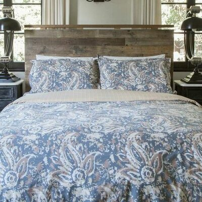 100% Cotton Reversible Duvet Cover Size: Twin / Twin XL