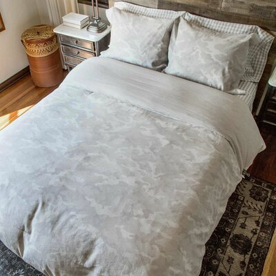 2 Piece Reversible Comforter Set Size: Full/Queen