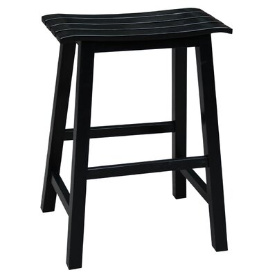 23 Bar Stool Finish: Black