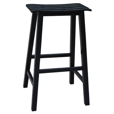29.4 Bar Stool Finish: Black