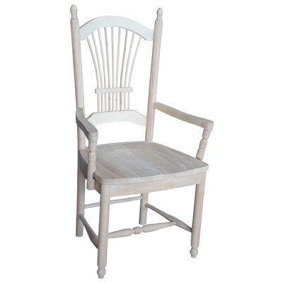 International Concepts Sheafback Arm Chair
