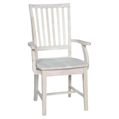 International Concepts Mission Arm Chair