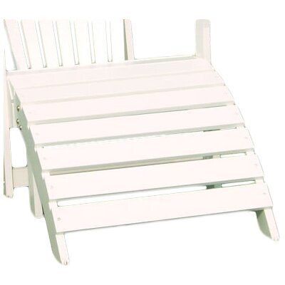 Adirondack Footrest Finish: White