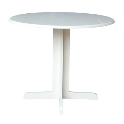 Extendable Dining Table Finish: Linen White