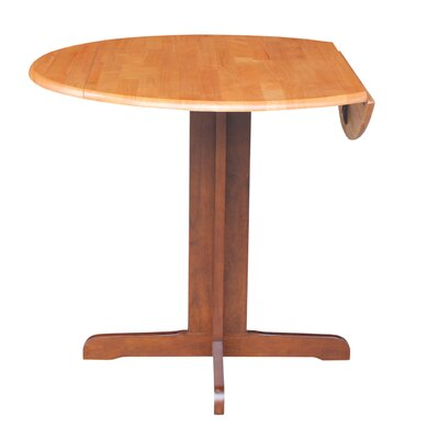 Lien Extendable Dining Table Finish: Cinnamon / Espresso