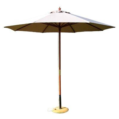 9 Market Umbrella Fabric: Natural