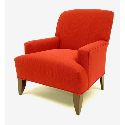 Elsa Winslow Arm Chair Color: Deep Red, Finish: Aged Cherry