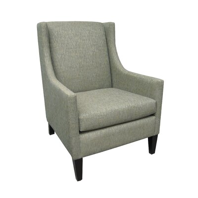 Cordelia Winslow Arm Chair Upholstery Color: Blue Chip, Upholstery Color: Aged Cherry