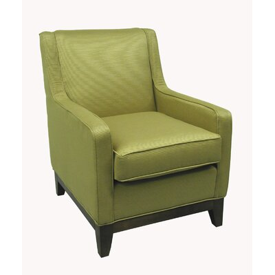Nadia Winslow Lube Chair Upholstery Color: Moon Beam, Upholstery Color: Antique Pine