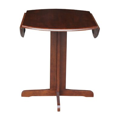 Lien Extendable Dining Table Finish: Espresso