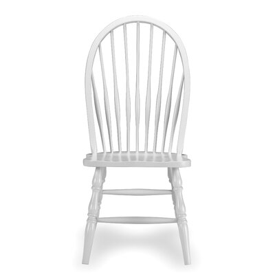 Low Price International Concepts Tall Windsor Side Chair Finish: Linen