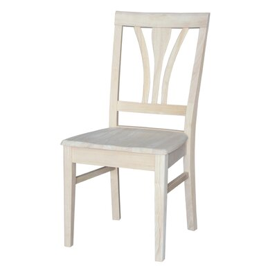 Toby Fanback Solid Wood Dining Chair