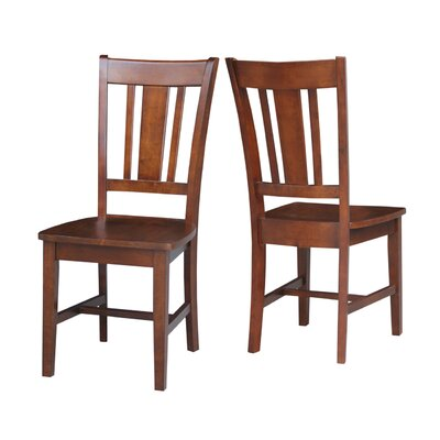 Doug Solid Wood Dining Chair Color: Expresso