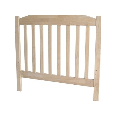 Loan for furniture Unfinished Wood Slat Headboard...