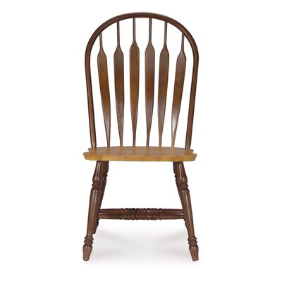 Low Price International Concepts Madison Park Windsor Side Chair Finish: Cinnamon and Espresso