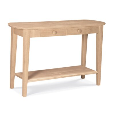 Cheap International Concepts Unfinished Philips Sofa Table (WI1983)
