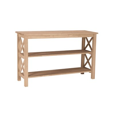 Cheap International Concepts Unfinished Hampton Console/Sofa Table (WI1974)