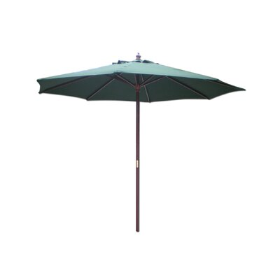 Lanark 9 Market Umbrella Fabric: Hunter Green