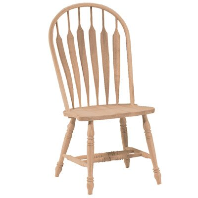 Madison Park Windsor Solid Wood Dining Chair Finish: Unfinished