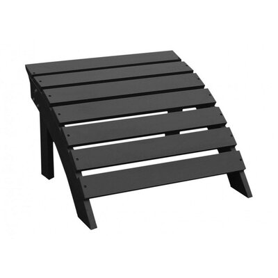 Hinman Collection Footrest Finish: Black HLDS8253 43638630