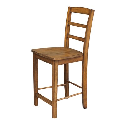 Canon 24 Bar Stool Finish: Pecan