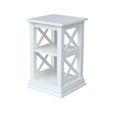 Cosgrave End Table Color: White