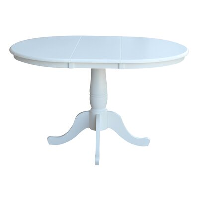 Overbay Extendable Dining Table Finish: White