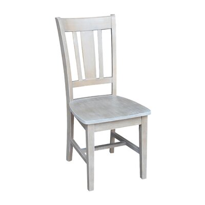 Doug Solid Wood Dining Chair Color: Weathered Gray