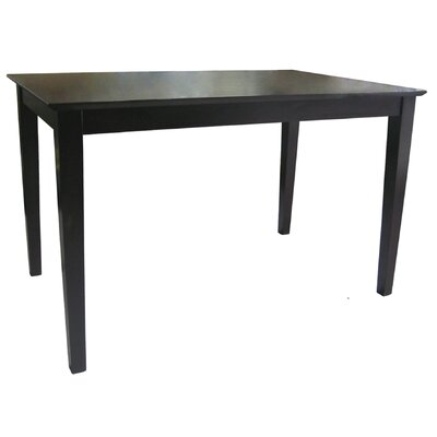 Ladores Solid Wood Top Shaker Styled Dining Table